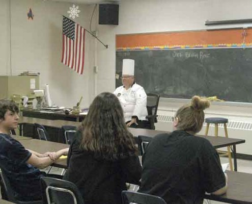 Chef Brian Renz Career Fair