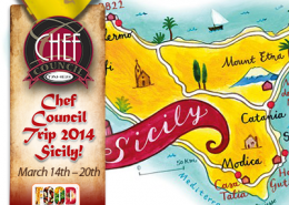 Taher Chef Council Trip to Sicily