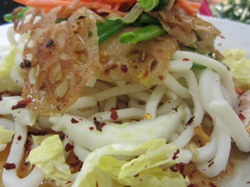 Lotus Root Udon