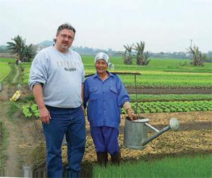 Chris Murray, Taher regional chef, in Vietnam