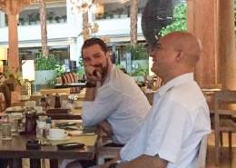 Breakfast in Jakarta