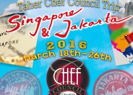 Taher Chef Council Singapore Jakarta Trip!