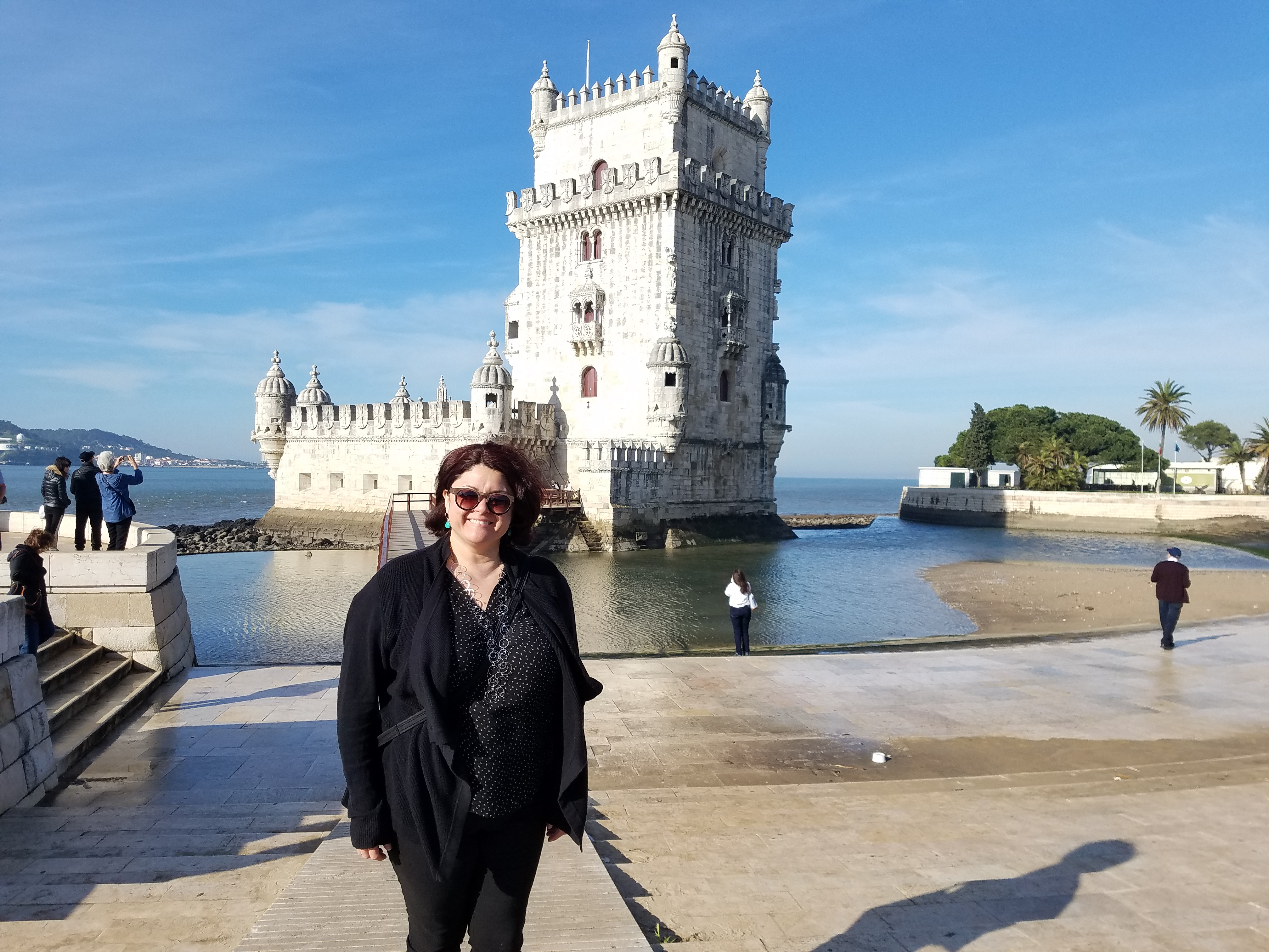 Chef Alicia and Tower of Belem