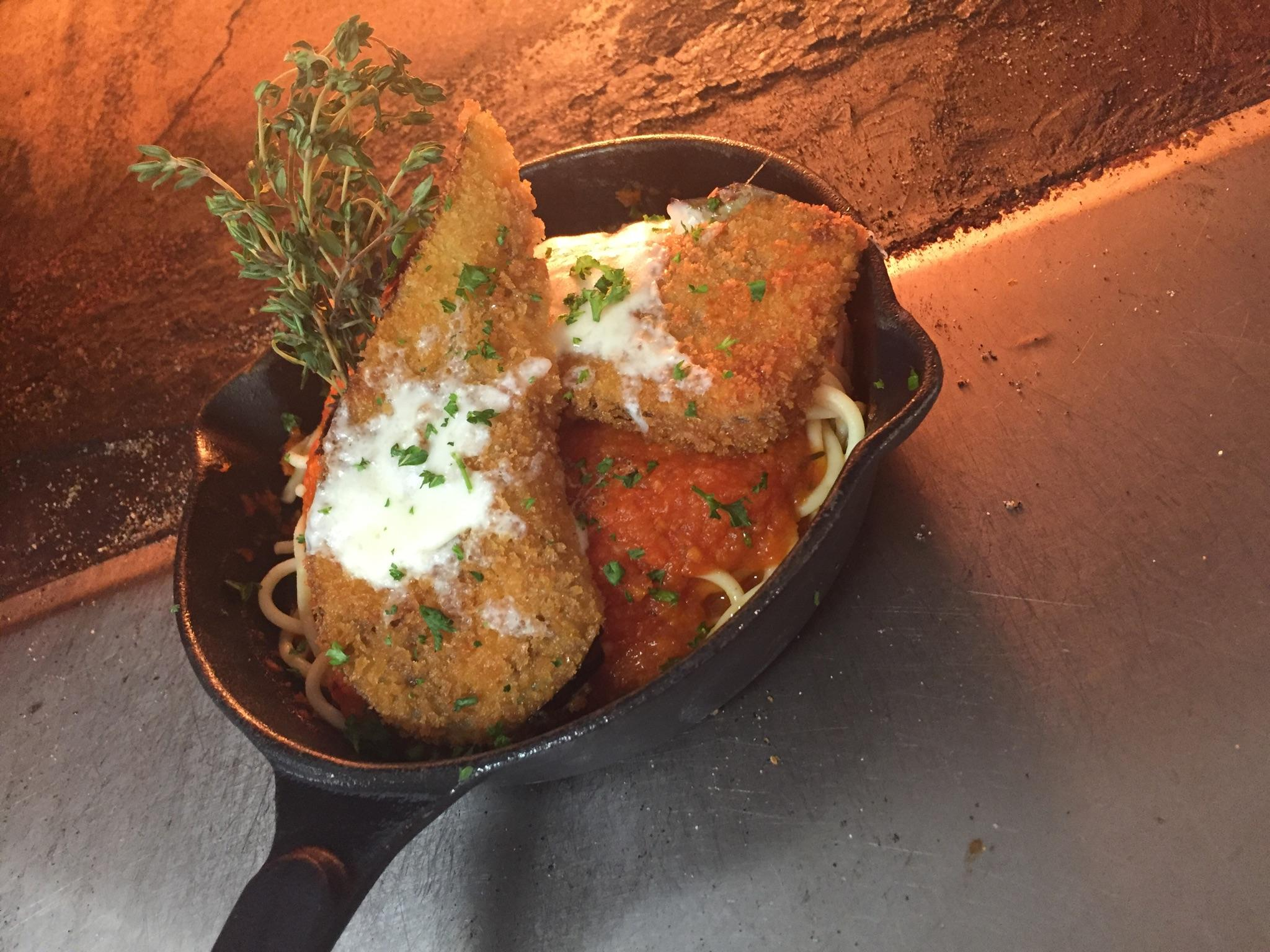 Chicken Parm Skillet at Oak Ridge