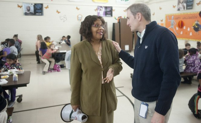 Jackson Public Schools students are dining with dignitaries