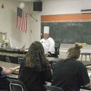 Chef Brian Renz Career Fair