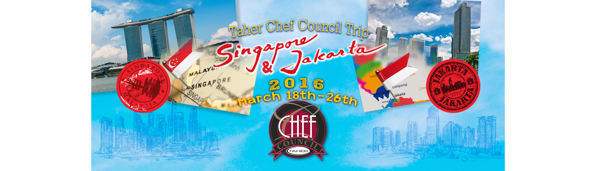 Singapore and Jakarta - Taher Chef Team Trip