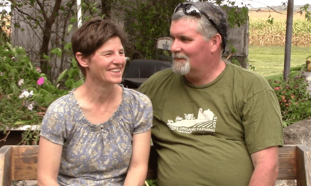 The Lenz family CSA Farmers